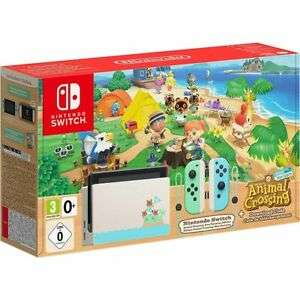 Nintendo Switch With Animal Crossing: New Horizons (Download) 32GB Console - £329.99 @ AO ebay store