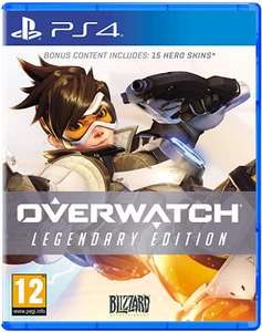 Overwatch Legendary Edition (PS4/XBOX ONE) Smyths - Free Delivery / Click and Collect - £15.99
