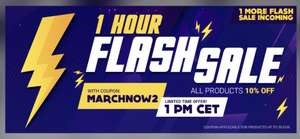 Flash Sale @ Gamivo - 10% off all products using code MARCHNOW2