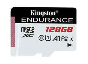 Kingston High Endurance 128GB UHS-1 (U1) Full HD, A1, 95/45MB/s R/W- Micro SD card - £17.09 Delivered @ Picstop