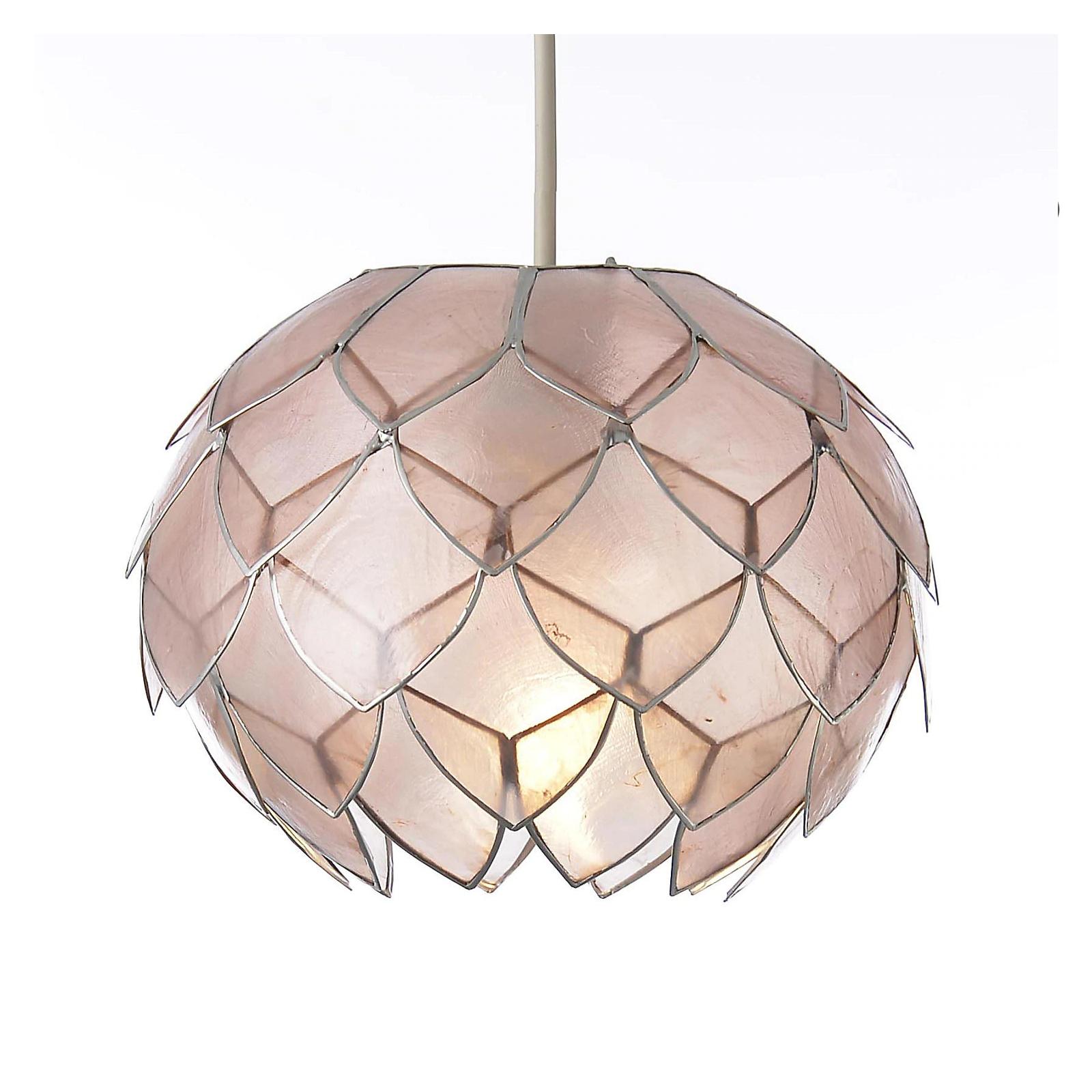 Colours Elvira Pink Artichoke Light shade £12 Using Click & Collect @ B&Q