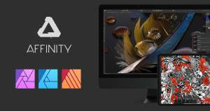 Affinity software 50% off + 90 day trial via Serif store