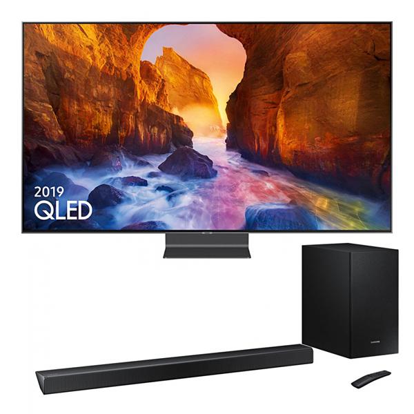 "Samsung QE55Q90RA 55"" QLED 4K HDR 2000 Smart TV + Free HW-R550 2.1 Soundbar With Subwoofer & 5yr Protection Plan - £1399 @ Crampton & Moore"