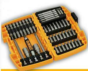 Dewalt DT71702 Screw Driving Screwdriver Bit Socket Set 45 Pieces DT71702-QZ - £11.99 @ PowerToolMate eBay