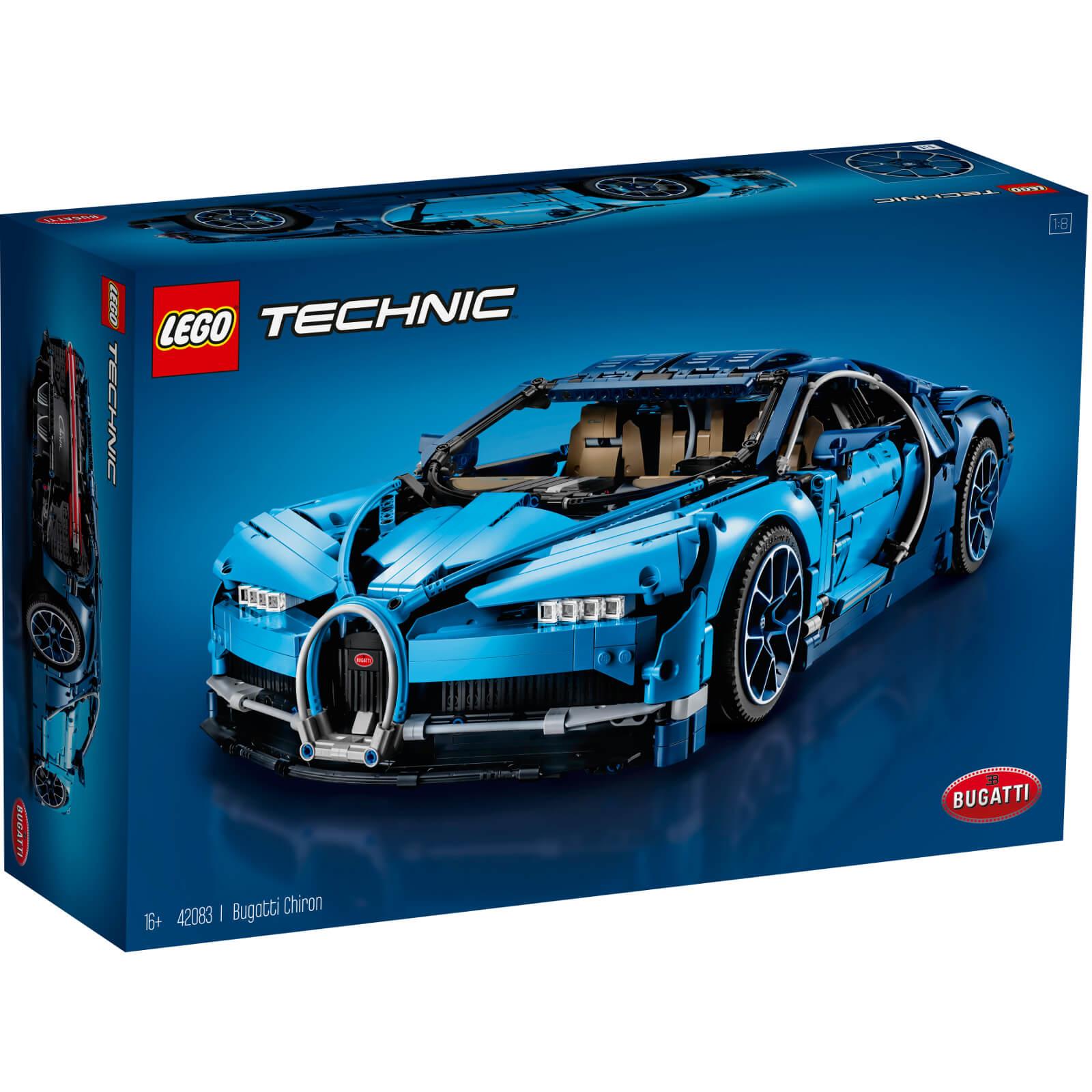 LEGO - 'Technic™ - Bugatti Chiron' building set - 42083 - £231 delivered + 5% quidco @ Debenhams