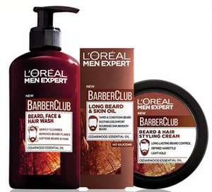L'Oréal men expert barber club products down from £9 to £2 Instore @ Sainsburys (London)