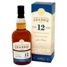 Crabbie 12 Year Old Single Malt Scotch Whisky 70Cl - £25 @ Tesco Glasgow