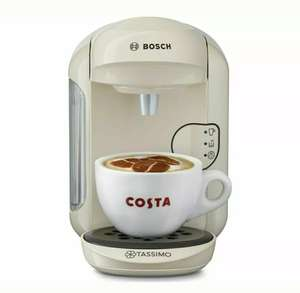 TASSIMO by Bosch Vivy2 TAS1407GB Hot Drinks Machine - Cream £33.99 @ Currys Ebay