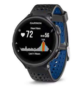 Garmin Forerunner 235 Smart Watch - Black/Blue - £99.99 (+2 years guarantee) click and collect or + £3.95 postage @ Argos