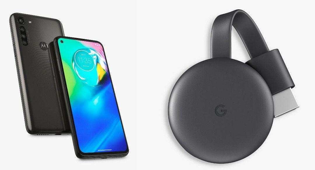 "Motorola g8 Power Smartphone, Android, 4GB RAM, 6.4"", 4G LTE, SIM Free, 64GB, & Google Chromecast (2018) £209.95 @ John Lewis & Partners"