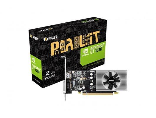Nvidia GT 1030 Low profile graphics card £69.30 @ CCLOnline