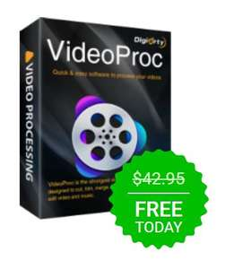 VideoProc 3.5 (Win&Mac) Free Download Today at Giveawayoftheday