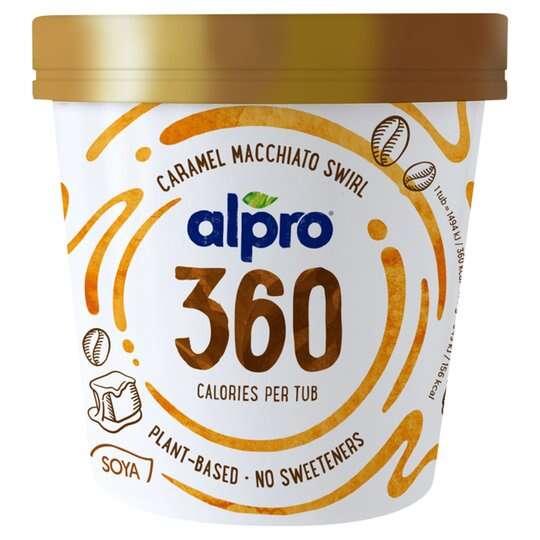 Alpro 360 Caramel Macchiato Ice Cream 450Ml 50p @ Heron Foods - Kingston Upon Hull