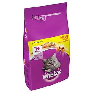 Whiskas Adult Dry Cat Food - Chicken - 7kg £13.50 + £4.99 delivery at Pet Planet