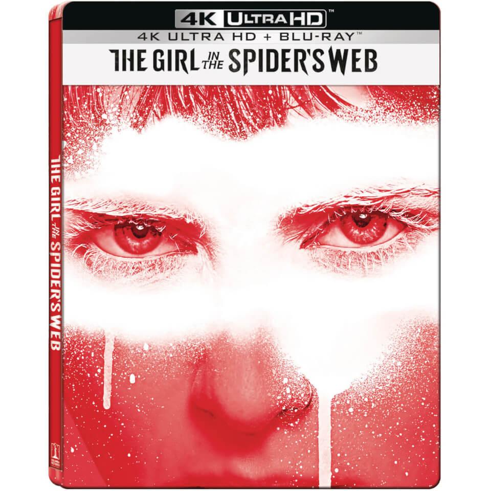 The Girl In The Spider's Web – 4K Ultra HD Blu-ray Steelbook £9.99 + 1.99 P&P (£8.99 RC VIP)@ zavvi