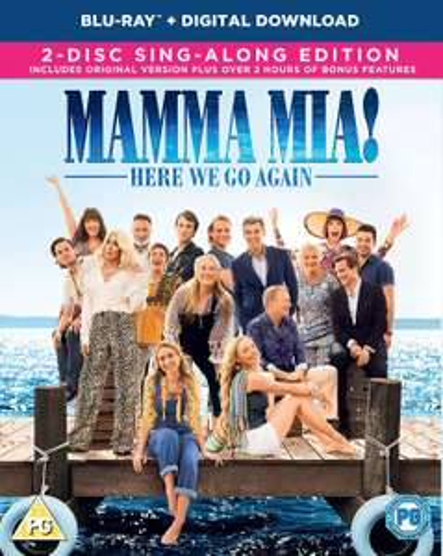 Mamma Mia! Here We Go Again Blu-ray £2.38 @ Amazon Prime / £5.37 Non Prime