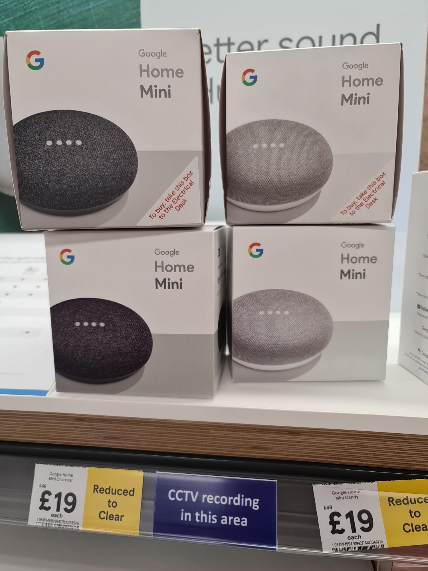 Google Home Mini 1st gen £19 @ Tesco
