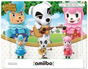 3 Pack (Reese + K.K. Slider + Cyrus) amiibo - Animal Crossing Collection (Nintendo Wii U/3DS) £10.75 Sold by bopster and Fulfilled by Amazon