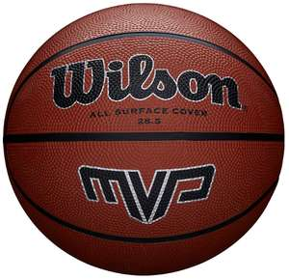 Wilson MVP Basketball Size 6 - £9.45 , Size 7 - £9.95 (Prime) / £14.49 (non prime) @ Amazon