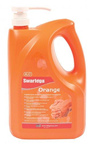 Deb Swarfega Orange Hand Cleaner with Pump, 4 L - £12.99 Prime / +£4.49 non Prime @ Amazon