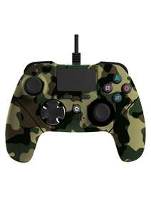 Mayhem MK1 PS4 Wired Controller - Green Camo on PS4 £14.99 @ Simply Games