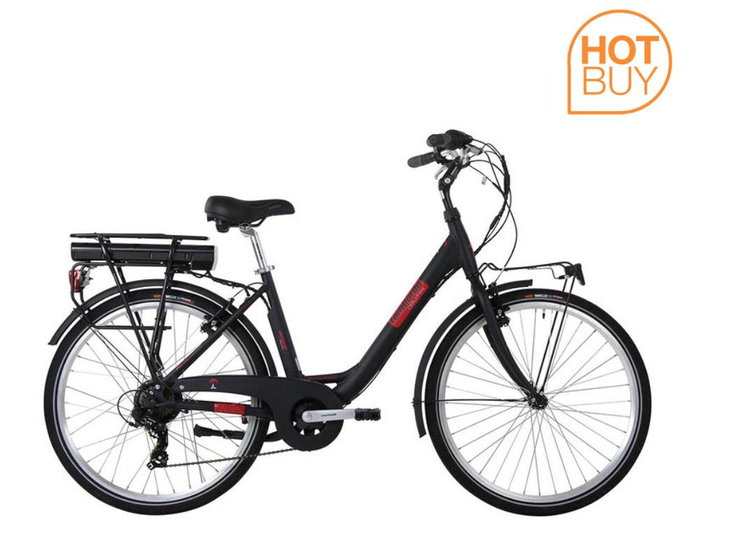 Lombardo Levanzo City E-Bike in Black/Red £739.99 delivered @ Costco