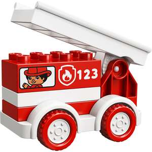 LEGO DUPLO 10917 My First Fire Truck Toy £3.50 / £7.99 Non Prime @ Amazon