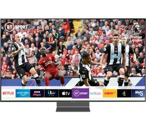 """Samsung 55"""" Smart 4K Ultra HD HDR QLED TV with Bixby at Currys for £1,399 at Currys PC World"""