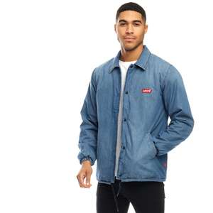 Levi's Mens Filled Coaches Jacket Indigo Stone (small only) £37.98 delivered at M&M Direct