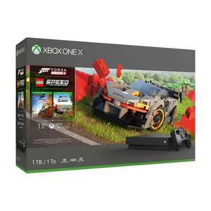 Xbox One X 1TB Console & Forza Horizon 4 LEGO Speed Bundle £246.99 @ eBay Argos with free click & collect using code