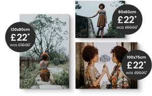 Gigantic Canvas Prints for only £22 each at Picanova