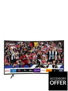 Samsung UE55RU7300KXXU (2019) 55 Inch, Curved Ultra HD, 4K Certified HDR Smart TV £449 +£6.99 delivery @ Very