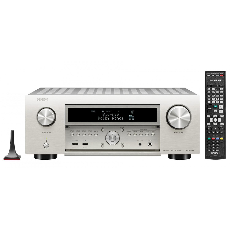 Denon AVC-X6500H AV Receiver £1,399 at Peter Tyson Audio Visual