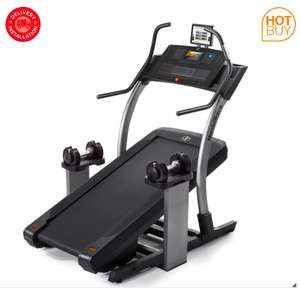 Installed Nordic Track x9i Incline Treadmill with 2 x Dumbbells £1,449.89 at Costco