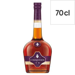 Courvoisier Vs Cognac 70Cl Bottle £24 at Tesco