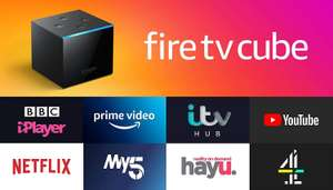 Amazon fire TV cube with Alexa Free Shipping - £93.49 (With Code) @ eBay / Curry's