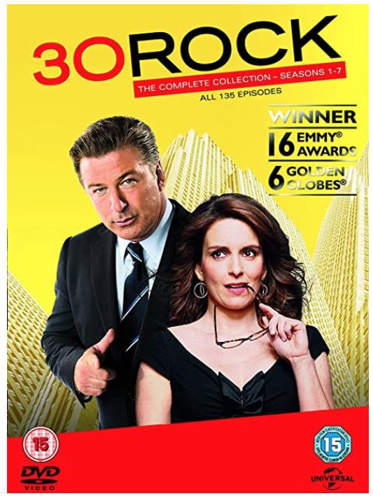30 Rock Season 1-7 DVD - £13.49 Amazon Prime/£16.38 Non-Prime @ Amazon