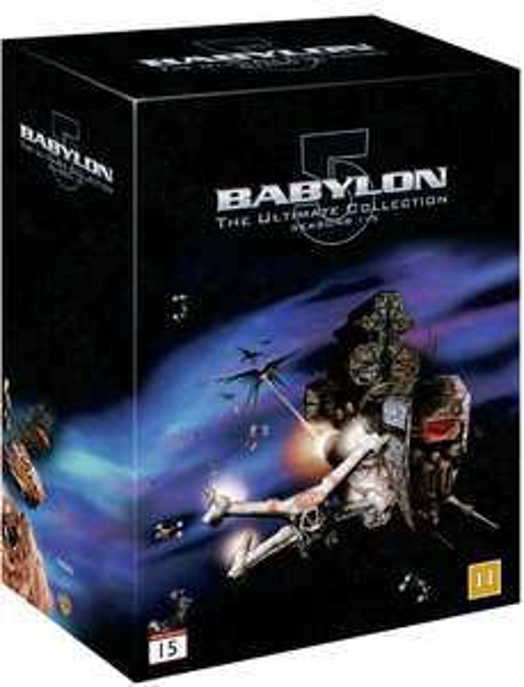 Babylon 5 complete box set 1-5 DVD £24.99 Delivered @ Coolshop