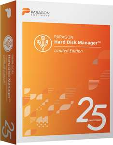 Free for today. Paragon Hard Disk Manager 17.10.2