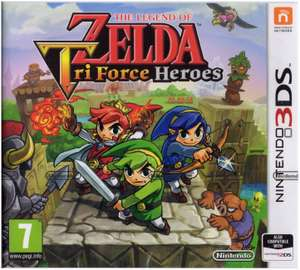 The Legend of Zelda Tri Force Heroes (Nintendo 3DS) £7.99 (Prime) / £10.98 (Non-Prime) Delivered @ Amazon