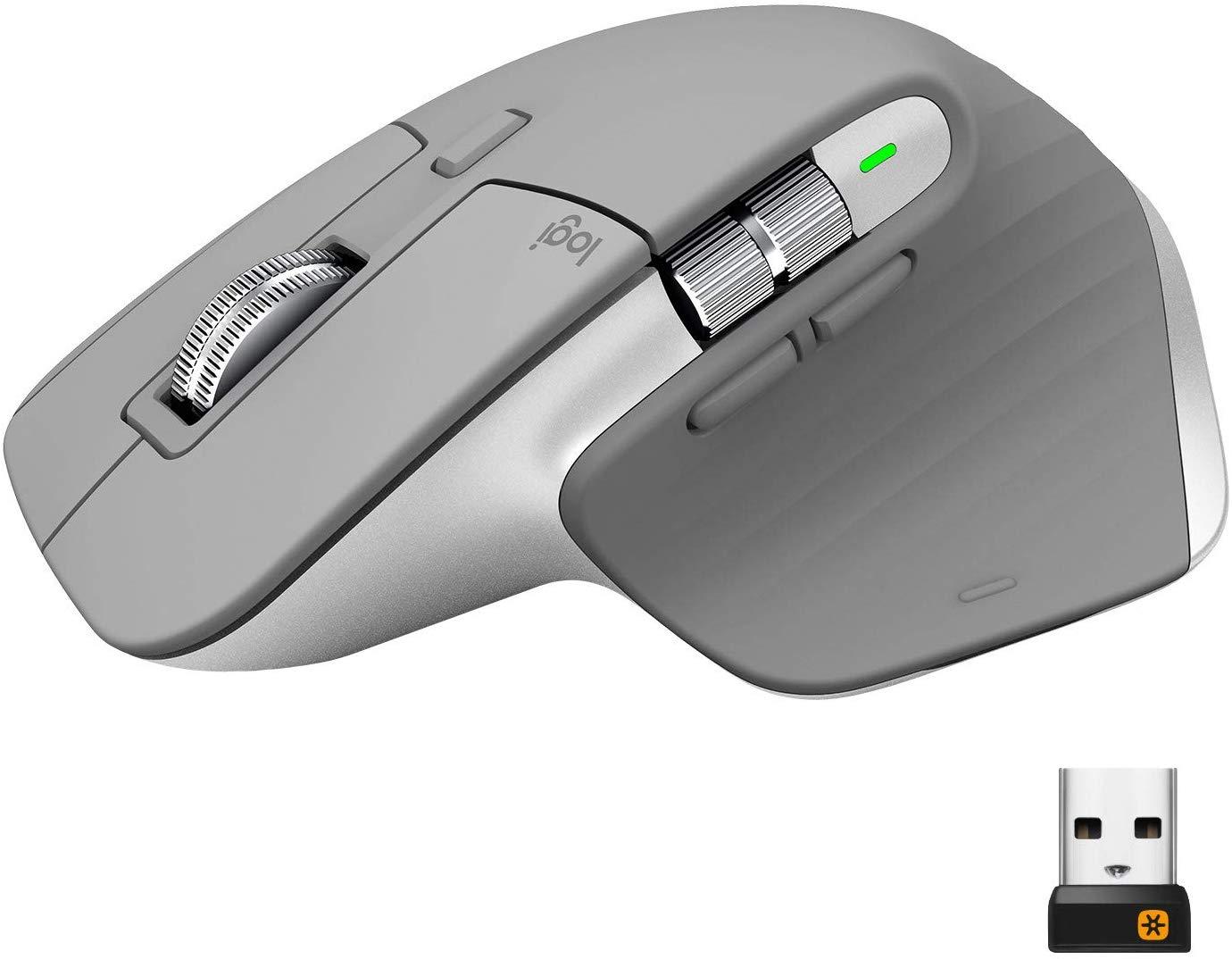 Logitech MX Master 3 Wireless Mouse, Ergonomic, 4000 Dpi, Customisation, USB-C/Bluetooth/USB £84.38 Amazon