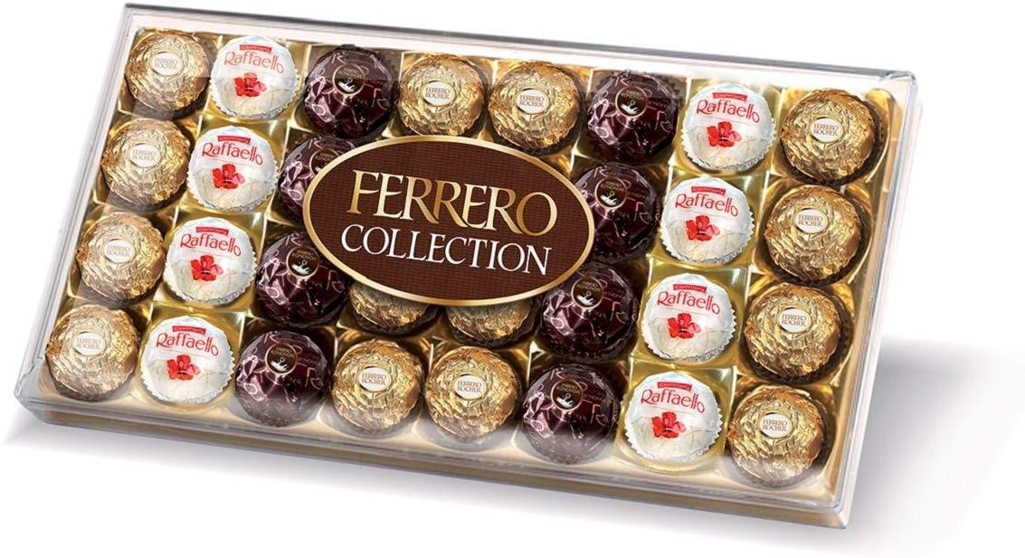 Ferrero Rocher Collection Chocolate Gift Set Box of 32 Pieces £8 at Amazon Prime / £12.49 Non Prime
