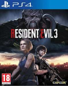 Resident Evil 3 Remake with Lenticular Sleeve PS4 / Xbox £38.95 delivered with code @ The Game Collection eBay