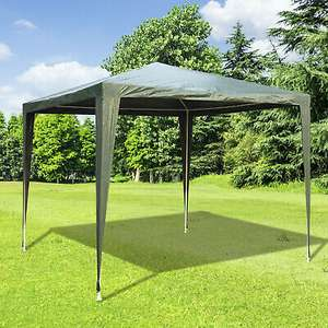 Outsunny 2.7x2.7M Garden Heavy Duty Gazebo Marquee Party Tent Canopy Green £19.99 at eBay outsunny