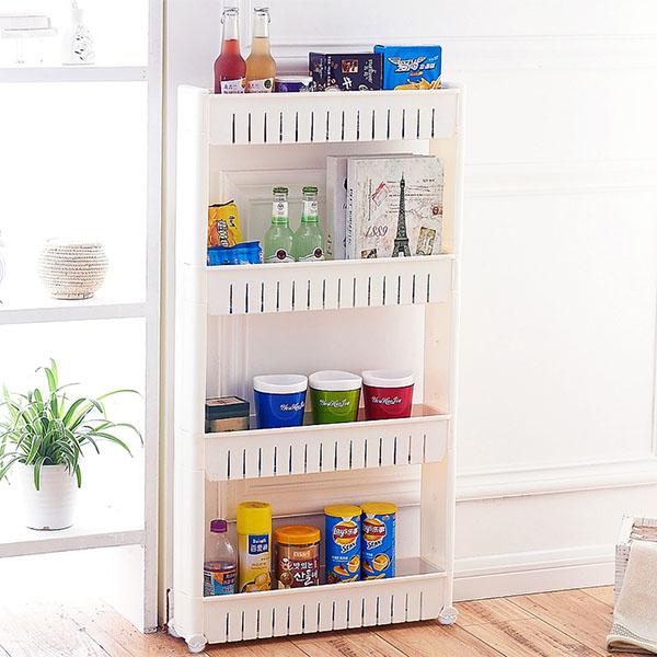 Ultimate Portable 4 Tier Storage Shelf Organiser for £10 delivered @ Yankee Bundle