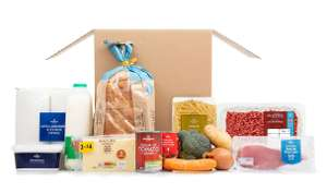 Morrisons 'Essentials' Food Boxes £35 delivered (Vegetarian Food Box or Meat Eaters Food Box)