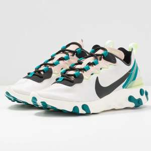 Womens Nike React Element 55 Trainers now £57.50 sizes 2.5 up to 8.5 @ Zalando