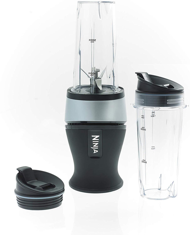 Ninja Slim Blender and Smoothie Maker [QB3001UK] 700 W, Black and Silver £29.99 @ Amazon