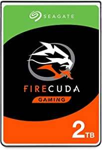 "Seagate FireCuda ST2000LXZ01/LX001 2.5"" Internal solid state hybrid hard disk (2TB, SSHD) for PC, XBOX One and PS4 - £67.96 @ Amazon"