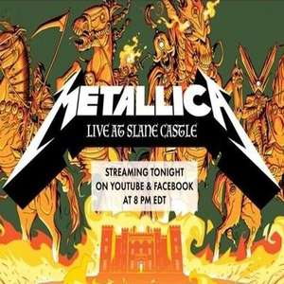 Metallica Mondays - Free Concert Livestreams every Monday on YouTube